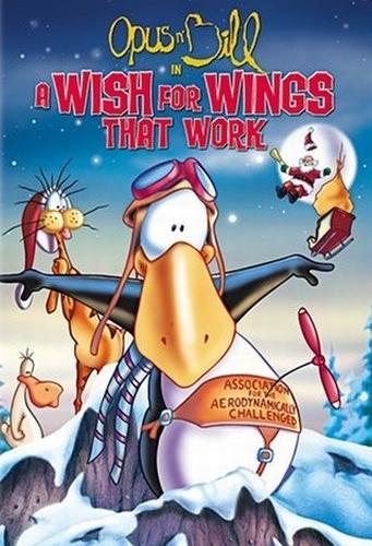 Опус и Билл в фильме Мечта о крыльях, которые летают / Opus and Bill in a Wish for Wings that Work