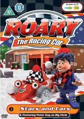 Рори - гоночный автомобиль. Звезды и машины