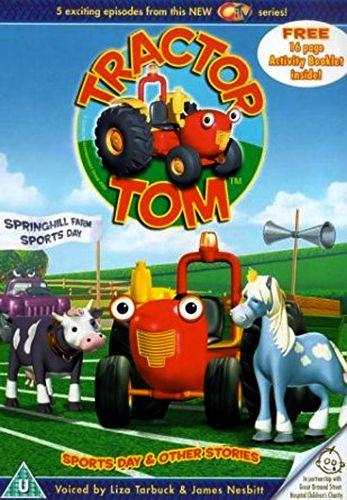 Трактор Том. День спорта / Tractor Tom. Sports Day / трактор Том на русском