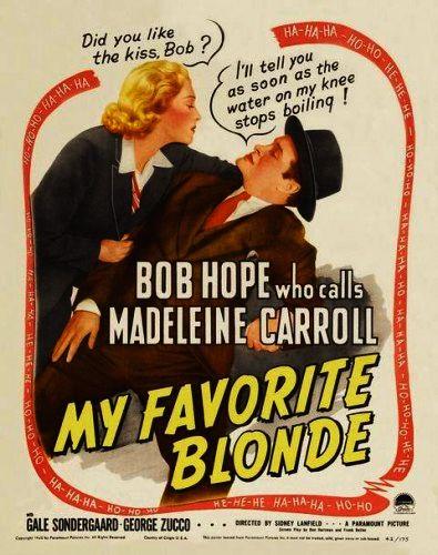 Моя любимая блондинка / My Favorite Blonde