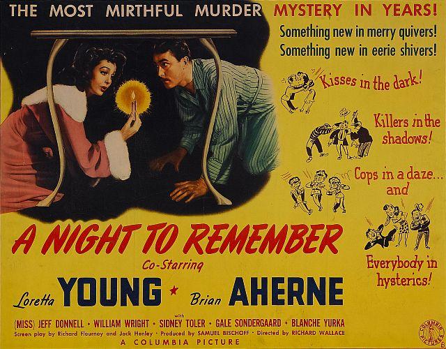 Незабываемая ночь / A Night to Remember